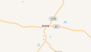 Zion, Kentucky map