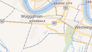 Avondale, Louisiana map