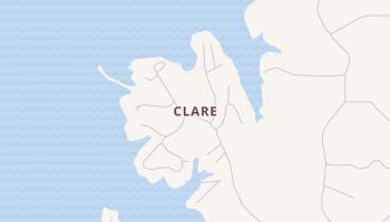 Clare, Louisiana map
