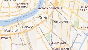 Gretna, Louisiana map