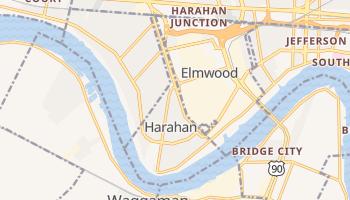 Harahan, Louisiana map