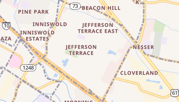 Inniswold, Louisiana map