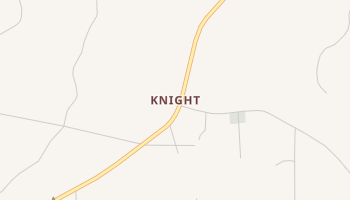 Knight, Louisiana map