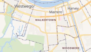 Marrero, Louisiana map