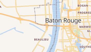 Port Allen, Louisiana map