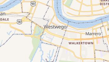 Westwego, Louisiana map