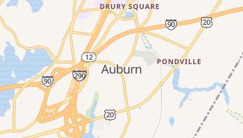 Auburn, Massachusetts map