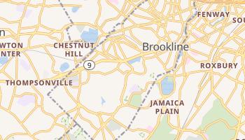 Brookline, Massachusetts map