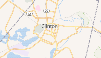 Clinton, Massachusetts map