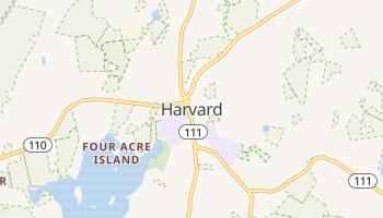 Harvard, Massachusetts map