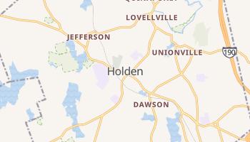 Holden, Massachusetts map