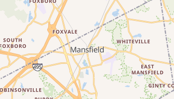 Mansfield, Massachusetts map