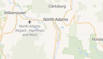 North Adams, Massachusetts map