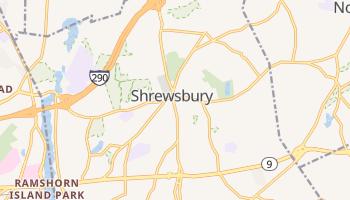 Shrewsbury, Massachusetts map