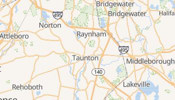 Taunton, Massachusetts map