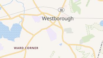 Westborough, Massachusetts map