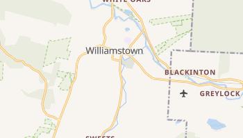 Williamstown, Massachusetts map
