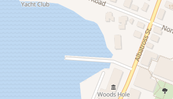 Woods Hole, Massachusetts map