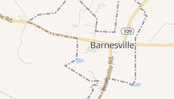Barnesville, Maryland map