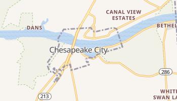 Chesapeake City, Maryland map