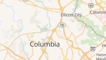 Columbia, Maryland map