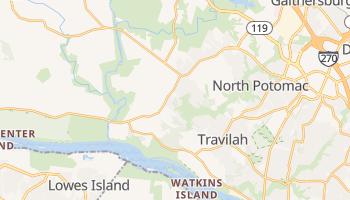 Darnestown, Maryland map