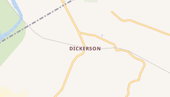 Dickerson, Maryland map