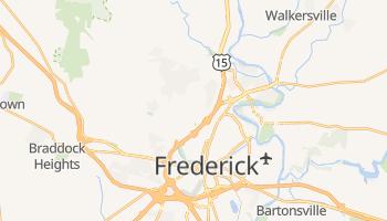 Frederick, Maryland map