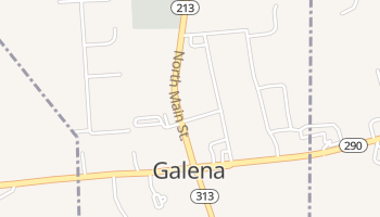 Galena, Maryland map