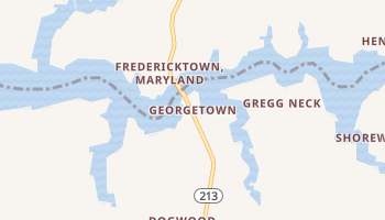 Georgetown, Maryland map