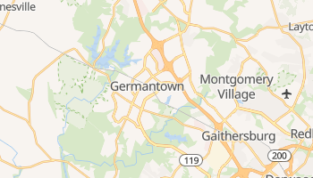 Germantown, Maryland map