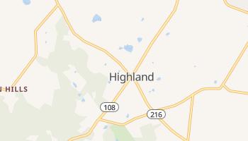 Highland, Maryland map