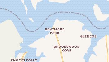 Kentmore Park, Maryland map