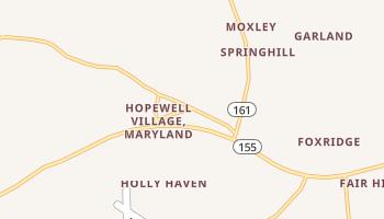 Level, Maryland map