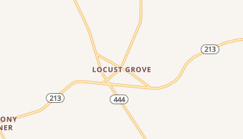 Locust Grove, Maryland map