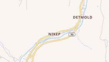 Nikep, Maryland map