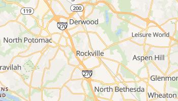 Rockville, Maryland map