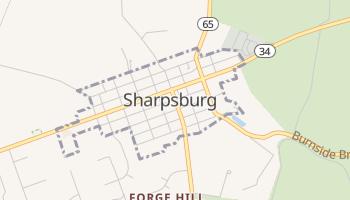 Sharpsburg, Maryland map