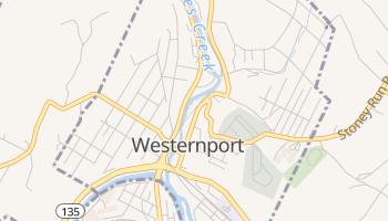 Westernport, Maryland map