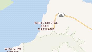 White Crystal Beach, Maryland map