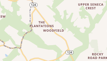 Woodfield, Maryland map