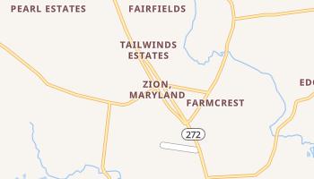 Zion, Maryland map