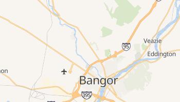 Bangor, Maine map