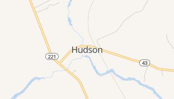 Hudson, Maine map