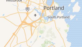 South Portland, Maine map