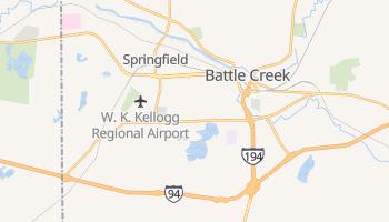 Battle Creek, Michigan map
