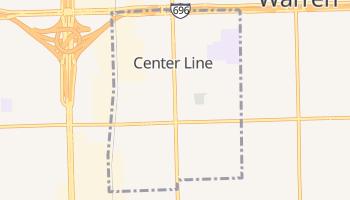 Center Line, Michigan map