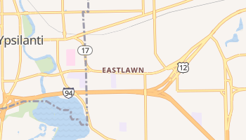 Eastlawn, Michigan map