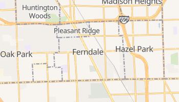 Ferndale, Michigan map