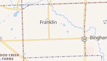Franklin, Michigan map